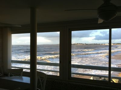 Photo for THE LOOKOUT - APARTMENT ON THE BEACH, THE WATERFRONT - EXCEPTIONAL SEA VIEW