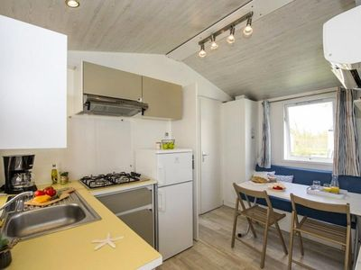 Photo for Camping Les Vignes ***** - Cozy Mobil Home 3 Rooms 5 People