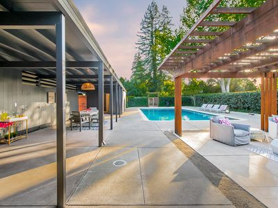 Photo for Midcentury Modern Oasis in Napa!