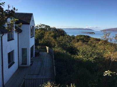 Photo for Stunning Coastal House near Oban views of Jura & Mull, 4 bed escape