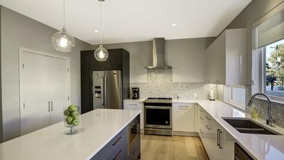 Photo for A BEACH ESCAPE AWAITS YOU IN THIS NEW TOWNHOUSE JUST STEPS FROM OKANAGAN LAKE