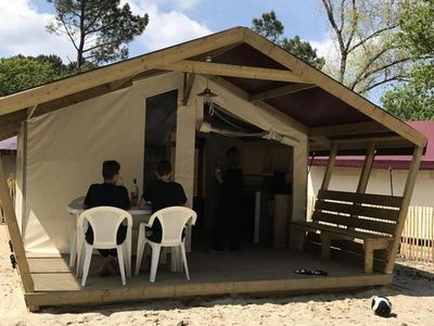 Photo for Camping Le Tastesoule **** - Freeflower Confort 3 Rooms 4 People