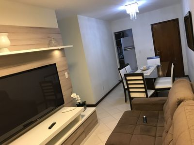 Photo for Aparatemento 3 bedrooms, pool and barbecue 4 m from the beach