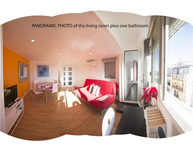 Photo for Quiet and very sunny apartment. Central. LAS RAMBLAS-MACBA-RAVAL