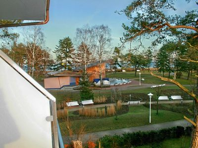 Photo for H: Am Kurpark 1/15 with balcony / sea view - apartment Am Kurpark Baabe Whg. 15 with balcony / sea view