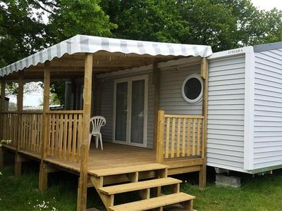 Photo for Camping Le Bois Joli *** - Mobile Home 3 Rooms 4 People