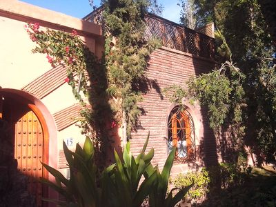 Photo for Charming riad-style villa in the palmeraie of Marrakesh