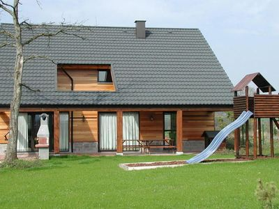 Photo for A beautiful wooden villa for 12 people.