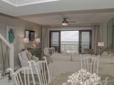 Photo for New Listing! BEAUTIFUL FOUR BEDROOM ON THE BEACH!  SUGAR BEACH A-10