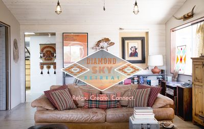 Photo for A rustic getaway, offering a creative space to relax and spend time with others.