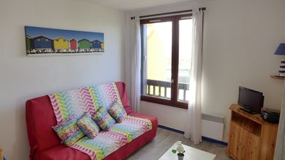 Photo for Seignosse Océan, apartment close to the beach with parking, 3 people
