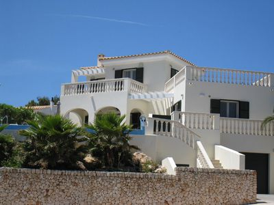 Photo for Stunning Villa, Infinity Pool beautiful Views over Port Addaia. FibreOptic Wifi