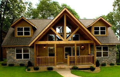 Photo for 4 Bedroom Cabins at Table Rock Lake, Branson, MO near Silver Dollar City