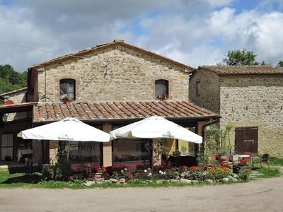 Photo for Holiday flats Podere St.Caterina, Castelnuovo di Val di Cecina  in Um Siena - 5 persons, 2 bedrooms