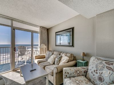 Photo for Fabulous Oceanfront 1 Bedroom Sea Watch Resort Condo, 807