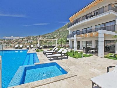 Photo for 7 Bedroom Villa, Beautiful location with stunning sea and mountain views