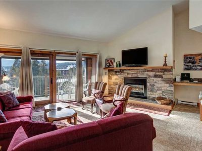 Photo for Stay in Downtown Breckenridge! Ski-In, Sleeps 10, Covered Parking, Hot Tub!