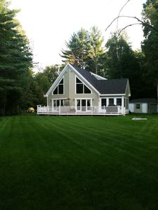 Four season Ossipee, NH lakehouse  overlooking Indian Mound Golf Course
