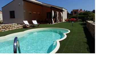 Photo for Villa with pool in Scopello