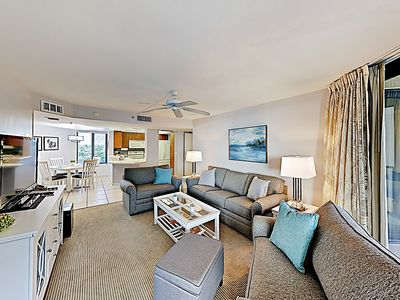 Photo for New Listing! All-Suite Beach Getaway w/ Pool & Tennis Courts