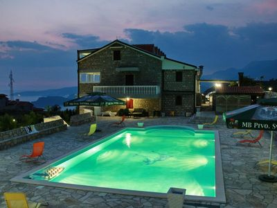 Photo for Vila Nina is located on the most popular place in Montenegro - Sveti Stefan.