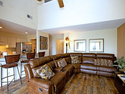 Photo for Top floor views and fully stocked! Dog friendly