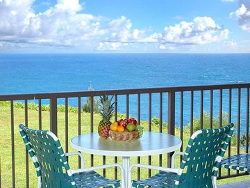 Oceanfront, Remodeled, Pali Ke Kua 245 with Awesome, Expansive Ocean Views!