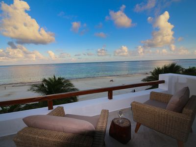 Photo for Oceanfront rooftop Suite with amazing view!