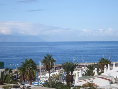 A View of Puerto Colon from the Balcony