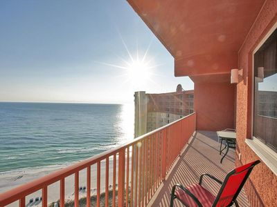 Photo for Direct Beachfront - LARGE POOL, HOT TUBS, INDOOR POOL & SUPER FUN!