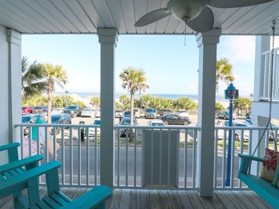 Photo for Stay awhile with Oceanfront Cottage Rentals in this Condo with Ocean views!