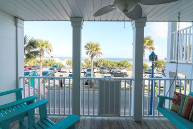 Stupendous Stay Awhile With Oceanfront Cottage Rentals In This Condo With Ocean Views Tybee Island Download Free Architecture Designs Osuribritishbridgeorg
