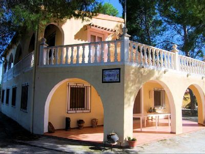 Photo for Self catering Cortijo Almizrán for 14 people