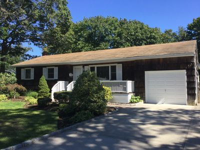 Photo for Immaculate Bellport village cottage vacation home w/ Pool, Hot Tub, bikes & Maid