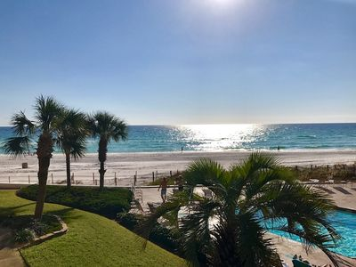 Photo for Stunning Condo w/Balcony, Gulf Views, Pool, Beach Access, & More