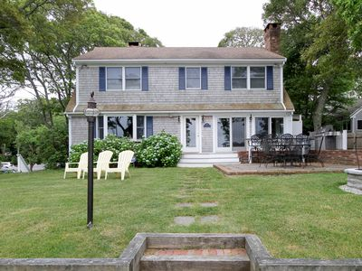 Photo for Exclusive 5BR Waterfront Home on Long Pond -- Walk to Private Beach and Dock
