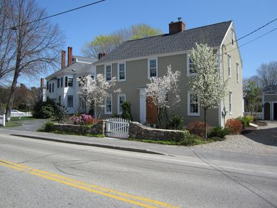 Historic Kennebunkport home in the heart of the village.  Steps to Dock Square.