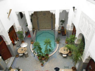 Photo for Beautiful suite in a Riad - Fes medina of Morocco
