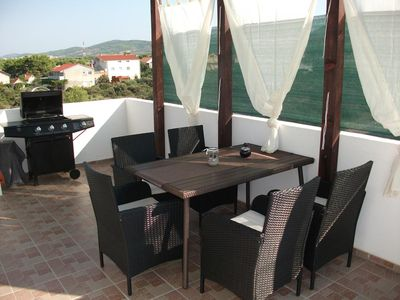 Photo for Two bedroom apartment with terrace Ražine (Šibenik)