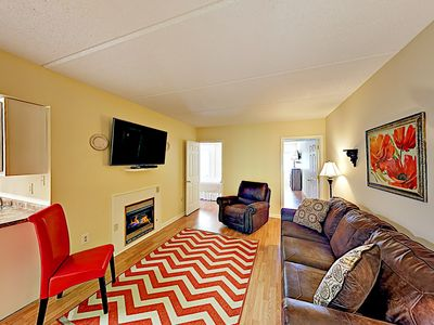 Photo for Charming All-Suite w/ Balcony - 3 Blocks to Downtown, Near Trolley & Slopes