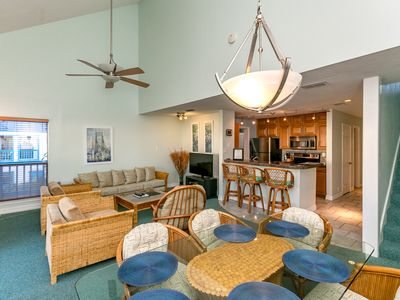 Photo for Waterfront Condo that overlooks the canal, pool & close to Schlitterbahn