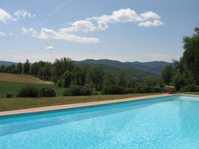 Photo for Beautiful private farmhouse with separate annexe, large pool and garden