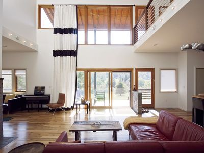 Spectacular Contemporary Home on 19 Private Acres near Wedding Venues & Skiing
