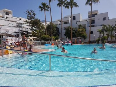 Photo for Holiday apartment Costa Adeje for 6 persons with 2 bedrooms - Penthouse holiday apartment