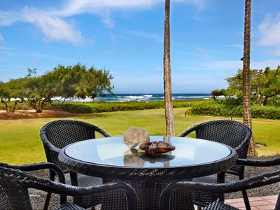 Photo for Oceanfront With View Of Beautiful Coastline Along Kauai's Royal Coconut Coast