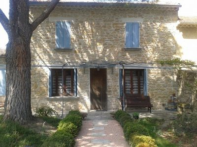 Photo for Provence, Stone House, Terrace and Garden Shady