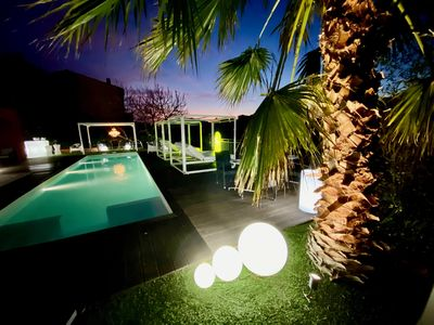 Photo for Villa Cannes 8 Persons 4 Bedrooms Private Pool Hill View with Daybeds