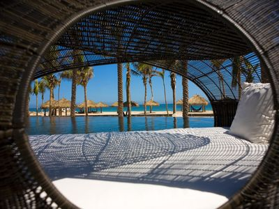 Photo for Top-Rated Cabo Luxury Resort 2BR w/ WiFi, Resort Spa & Pool