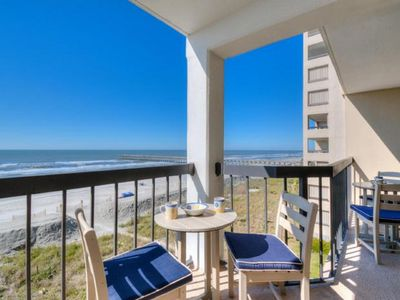 Photo for Sea Marsh II 403, Beautiful 3 BR Condo with an Indoor Pool and Spectacular Ocean Front Views