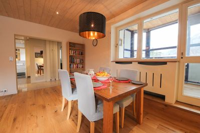 Rent apartment Chamonix   Dining area